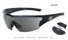 Dirty Dog Sport Sunglasses - Wix #58040 (Black Frame Grey POL Lens) 1/2 price