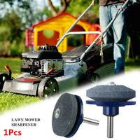 Universal Lawn Mower Faster Blade Sharpener Grinding Power Drill Garden Tool 1Pc