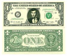 JAMES BOND VRAI BILLET DOLLAR US! GEORGE LAZENBY Collection 007 Acteur Hollywood