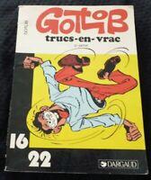 Paperback French Book Gotlib Trucs en Vrac 2e Partie Dargaud 16/22 No.151
