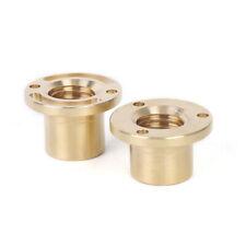 New 2pcs Milling Machine Part Longitudinal Brass Feed Nut Xy Axis Fit Diameter