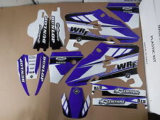 FLU DESIGNS PTS3 TEAM GRAPHICS YAMAHA WR250F WRF250 WR450F WRF450   2005  2006