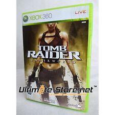 Jeu XBOX 360 - X360 - TOMB RAIDER UNDERWORLD - VF - Avec publicité Tomb Raider