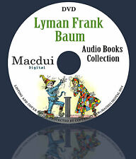 L. Frank Baum Audio Books Collection 1 Data DVD Unabridged English 30 Audiobooks