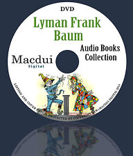 L. Frank Baum Audio Books Collection 1 Data DVD Unabridged English 30 Audiobooks