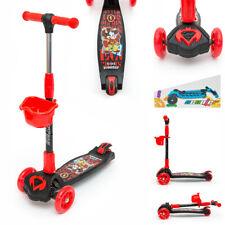 3 RUOTA Bambini//Ragazzi Kick Speeder Slider ALATA push scooter Tri Movimento Drifter