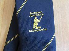 BRITANNIC Assurance Championship CRICKET Tie by Glenbourne