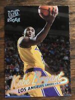 1996-97 Fleer Ultra #52 Kobe Bryant Rookie RC Los Angeles Lakers