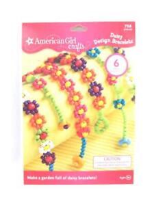 2009 American Girl Crafts Daisy Design Bracelets Makes 6 Bracelets