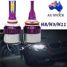 236W H11 LED Fog Headlights KIT Driving Bulb Globes Single Beam vs Halogen Xenon