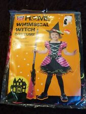 Whimsical witch costume New Rite Aid toddler size 2T-4T