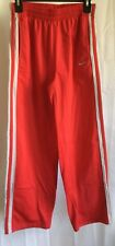 Womens Size Large 16/18 Ohio State Buckeyes Nike Red And Gray Sweat Lounge Pants