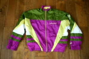 Rare Nike International Shell Suit Track Jacket  Vintage 90s Retro  M/L