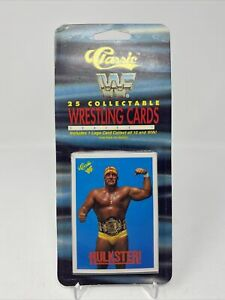 Classic 1989 WWF Wrestling Superstars 25 Collectable Cards SERIES 1 Hulkster!
