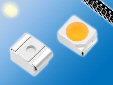 100x SMD LED | Warm Weiß | 3000K | PLCC-2 | 3528 | Gegurtet | hoher CRI Wert