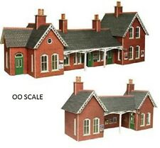 METCALFE CARD KIT-PO237-COUNTRY STATION-'OO' SCALE-LOOK