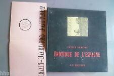 érotique de l'Espagne Xavier Domingo cartonnage 1967 érotisme livre Dali