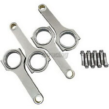 CXRacing H-Beam Connecting Rods + Bolts For Ford Cosworth Lotus FVA Engine