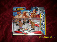 WWE RUMBLERS A HANDFUL OF ACTION ZACK RYDER & REY MYSTERIO