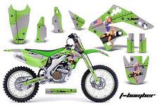 KAWASAKI KXF 250 Graphic Kit AMR Racing # Plates Decal Sticker Part 06-08 TBG