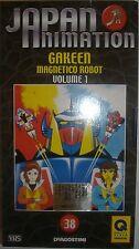 VHS - DE AGOSTINI/ JAPAN ANIMATION - VOLUME 38 - GAKEEN MAGNETICO ROBOT