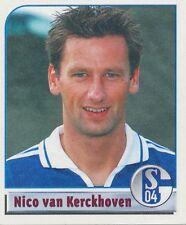 N°151 NICO VAN KERCKHOVEN BELGIQUE FC.SCHALKE 04 STICKER PANINI BUNDESLIGA 2002