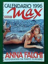 ANNA FALCHI Calendario/Calendar 1996 - Ed. MAX , Foto MARCO GLAVIANO