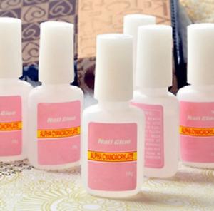 10g/Bottle Acrylic Nail Art Glue French False Tips Decor Tool Fake Nails Glue