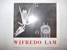 ARTE - WIFREDO LAM 1973 Catalogo Illustrato DIPINTI Galleria Angolare Milano