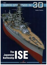 The Japanese Battleship ISE - Super Drawings in 3D - Kagero ENGLISH