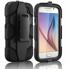 Heavy Duty Tough Builder Armour Shock Proof Stand Case For Samsung Galaxy S5