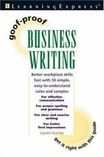 Goof-Proof Business Writing