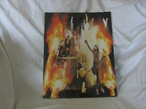 Kiss The farewell tour programme 1972-2000