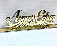 Custom Name sign,Wedding Sign,Name Plate,Wedding Decor,Personalized mirror