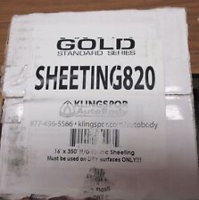 KLINGSPOR  Auto Body Cover Up Clear Plastic Sheeting - 16 Ft x 350 Ft- 1 Roll