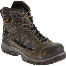"""CAT Men's Compressor Grey 6"""" Waterproof Work Boot Composite Toe - Size 9"""
