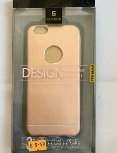 New Iphone 7 Plus Rose Gold TPU Metal Case