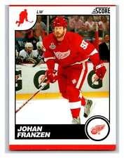 (HCW) 2010-11 Score Glossy #189 Johan Franzen Red Wings Mint