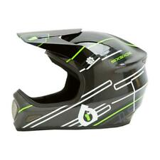 New SixSixOne 661 Evolution Carbon Full Face Helmet Black / Lime Size MTB