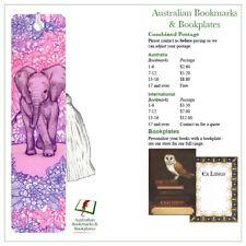 Baby Elephant bookmark with tassel