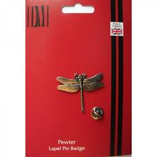Dragonfly LAPEL PIN Badge Insect Pond Life Nature Lover Present GIFT BOX