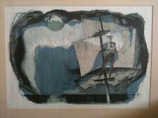 Benton Spruance lithograph - The Spirit-Spout