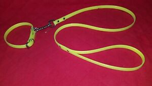 NEW ** ORION ** NEON YELLOW XS-S DOG COLLAR & LEAD