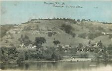 Prairie Du Sac Wisconsin~Round Bluff~Bridge~Homes~Farms~CU Williams~1908 PC