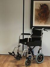 Angel Mobility Amw003 Lightweight Alloy TRANSIT Folding Wheelchair Silver