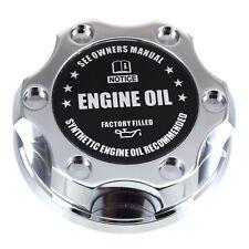 Chrome Oil Filler Cap Black Engine Oil  Emblem For Chrysler Jeep Dodge Ram