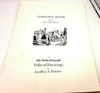 London's River: Folio of Drawings Series 1, The Tidal Thames.