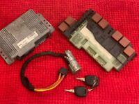 CLIO 2  1.4 essence  KIT DEMARRAGE CALCULATEUR  COMPLET  7700108814
