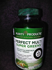 Purity Products Perfect Multi Super Greens Multivitamin Capsules Health Vitamins