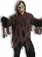 Zombie Shrouded Death Corpse Adult Mens Scary Halloween Costume monster skull